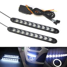 Waterproof 12v Car Led Drl Relay Daytime Running Harness Auto