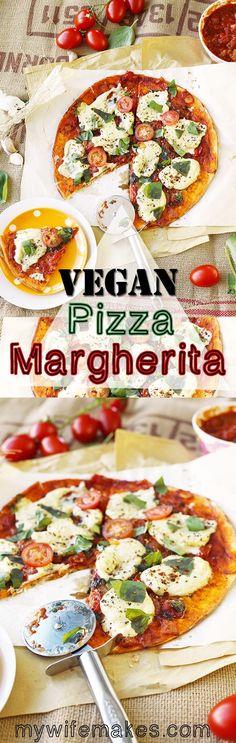 Vegan Pizza Margherita