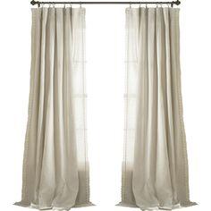 Liam Pinch Pleat Curtain Panel Pair