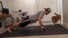 Check out this fun video of a man and dog exercising (or, rather, the dog keeping the man from exercising effectively). Obviously, the dog loves this guy. It's a very loving video. And fun! Man And Dog, Weight Loss Inspiration, This Man, Fun Workouts, Weight Loss Tips, Dog Love, Fitness Motivation, Celebrity, Exercise