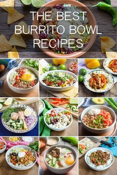 10 Delicious Burrito Bowl Recipes