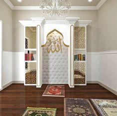 23 Praying Room Ideas Tо Bring Your Ramadan More Beautiful – Home Design Beautiful Home Designs, Beautiful Homes, Beautiful Beautiful, House Beautiful, Beautiful Pictures, Decoraciones Ramadan, Prayer Corner, Islamic Decor, Prayer Room