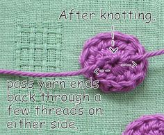 Mr. Micawber's Recipe for Happiness: A Simple Crochet Button