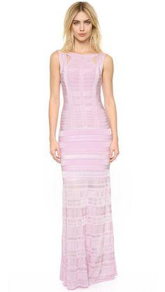 New Arrivals Women Dresses Pointelle HL Blue Long Bandage Dress Gown