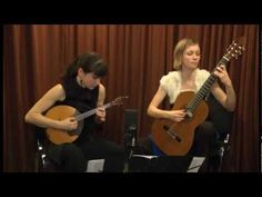 "Duo Edora plays E. Baev  ""Underwater flowers""  II-III part"