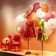 "DIOR KIDS, Marina Bay Sands, Singapore, ""Sakura Inspired Theme"", pinned by Ton van der Veer"