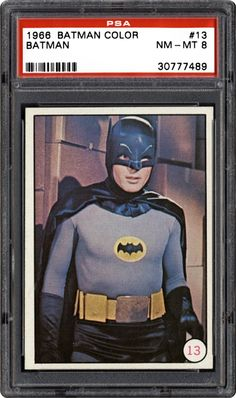 Image Gallery: Non-Sports Cards - 1966 Batman Color Photo | PSA CardFacts™