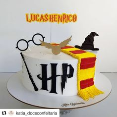 Gateau Harry Potter, Harry Potter Nail Art, Cumpleaños Harry Potter, Harry Potter Birthday Cake, Harry Potter Baby Shower, Gateaux Cake, Creative Cakes, Cake Designs, Amazing Cakes
