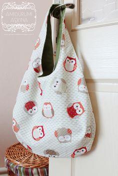 Amigurumi Aşkına: Kullanışlı ve Pratik Çift Taraflı Çanta Dikelim-Reversible Bag Tutorial  <3
