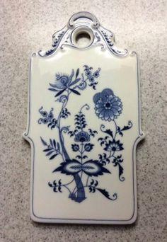 JY: China Blue Danube Cheese Board | www.ebay.com