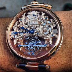 The intricate, artful detail is what makes a Bovet timepiece.