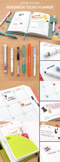 It is a Japanese daily planner known for its minimal and functional design. While it may look like an ordinary planner at first glance, using a Hobonichi Techo reveals the thoughtful details that make it such a beloved daily companion.