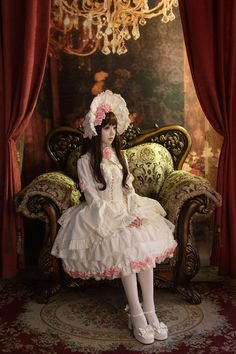 Lolita cute clothing style, beautiful girl and model, include china, korea, japan