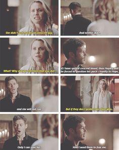 Klaus and Cami. The Originals Season 2 Episode 19