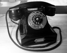 A job interview invitation may be delivered by phone or email. Today, I'll cover how to respond well when the invitation comes via telephone. Telephone Line, Modern Art Styles, Vintage Phones, Old Phone, Boots For Sale, Landline Phone, How To Make Money, Art Deco, Gadgets