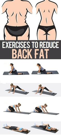 8 Simple Exercises to Reduce Back Fat