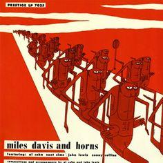 Miles Davis - Miles Davis And Horns On Vinyl LP