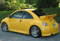 Customized VW Beetle