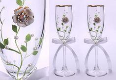 nice Decoración de copas para bodas. Infinitas posibilidades.