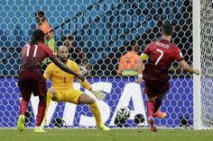 (2-2) La crónica del Estados Unidos-Portugal: La Portugal de Cristiano se salva por la campana