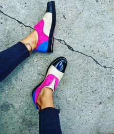 #INCHE2 #PINK FRINGED OXFORDS 😍😍😍