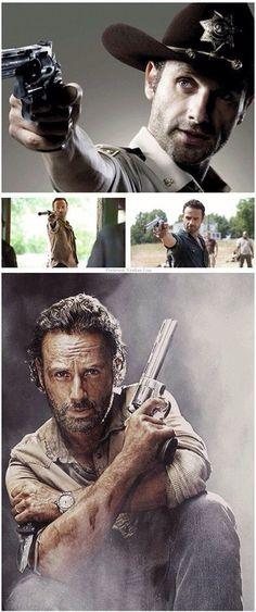 Rick and his Colt Python