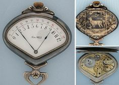 The RetroGrade Pocket-watch (circa 1900) is a definition of steampunk - it's gorgeous, cryptic and full of its own mad movement: