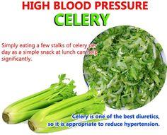 High Blood Pressure & Celery