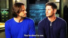 When Jensen says Jared is the only one with gray hair :) (EW cover shoot video)