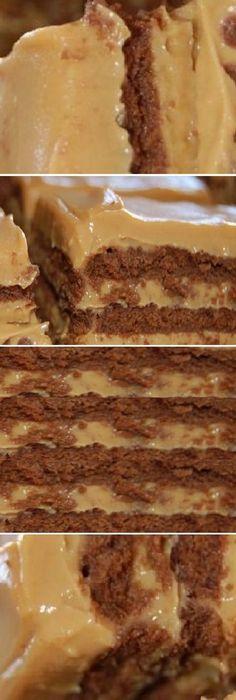 Pastel frio de cafe; no necesita hornear. 4 ingredientes y 3 pasos!! #pastel #cafe #sinhorno #comohacer #receta #recipe #casero #torta #tartas #pastel #nestlecocina #bizcocho #bizcochuelo #tasty #cocina #chocolate #pan #panes Si te gusta dinos HOLA y dale a Me Gusta MIREN … Mexican Food Recipes, Sweet Recipes, Cake Recipes, Dessert Recipes, Delicious Desserts, Yummy Food, Pan Dulce, Crazy Cakes, Cakes And More