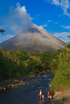 Arenal Volcano, in northwestern Costa Rica