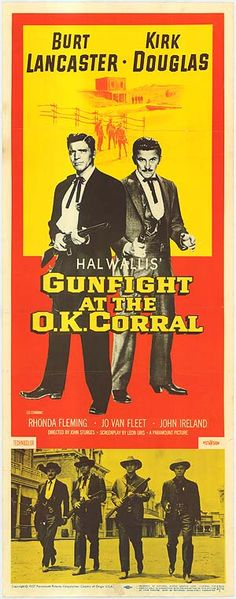 [ GUNFIGHT AT THE O.K. CORRAL POSTER ]
