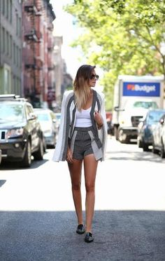How to Wear Short-Shorts and Still Look Stylish