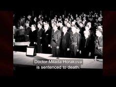 Milada Horakova was a Woman Politician, hanged by Chekoslovakian Communist Rulers in Czech Republic, Side Dishes, War, History, Wrestling, Thanks, Woman, Historia, Bohemia