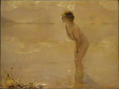 Paul Chabas (French, 1869-1937). September Morn, ca. 1912. The Metropolitan Museum of Art, New York. Purchase, Mr. and Mrs. William Coxe Wright Gift, 1957 (57.89)