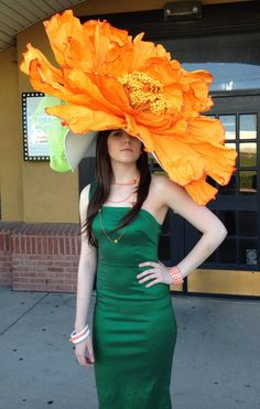 I'm gonna pass on this one! - I'm gonna pass on this one! Kentucky Derby Prize Winning Hat: Bodacious Derby Dame Hats DFW Source by zubzub - Derby Outfits, Outfits With Hats, Fancy Hats, Cool Hats, Big Hats, Dress Hats, Dress Up, Kentucky Derby Outfit, Kentucky Derby Fashion