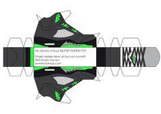 Air Jordan V Paper toys by Erwan   Throwback Sneakers