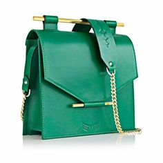 Architectural  Leather bag - romanian designers. Shop online on SAASH