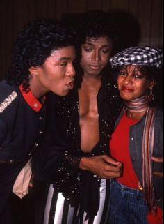 Jermaine, Randy and Rebbie Jackson Tito Jackson, Jermaine Jackson, Randy Jackson, Michael Jackson Bad, Jackson Family, The Jacksons, Family Outing, Family Affair, Motown