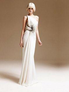 Unique-One-Shoulder-Atelier-Versace-White-Bridal-Dresses