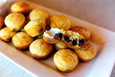 Blueberry Cornbread Mini-Muffins