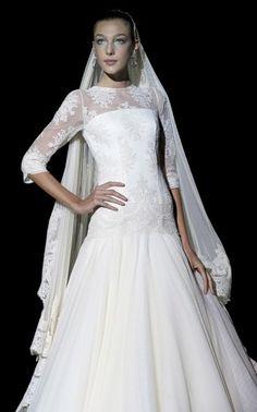 Light inspired dresses designed by Franc Sarabia / Wedding Dresses 2013