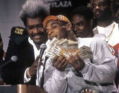 Mike Tyson and Don King
