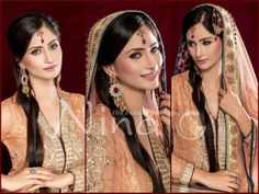Pakistani Brides Beautiful Makeup by Nina G