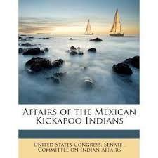 Resultado de imagen para the mexican kickapoo indians