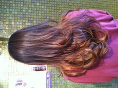 Beautiful ombré color by Ginger Bay Stylist, Ashley! #hairstyle #ombre