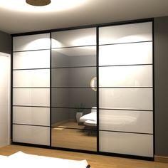 Glass Wardrobe, Wardrobe Door Designs, Wardrobe Design Bedroom, Closet Bedroom, Placard Design, Dressing Design, Grass Decor, Living Room Tv Unit Designs, Kids Room Furniture
