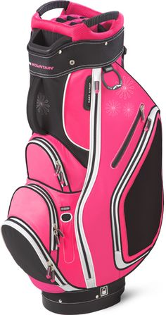 Check out our new Sun Mountain Ladies Sync Cart Golf Bag - Pink & Black with the best features! #Sports #Ladies #Fashion #Bags #Accessories #Golf