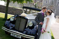 How magical is Rachel and Daniel's fairytale castle wedding