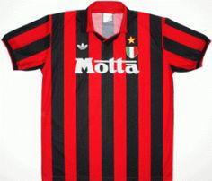 Milan jersey 1992